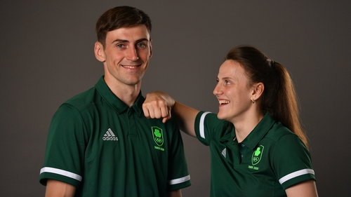 Aidan and Michaela Walsh