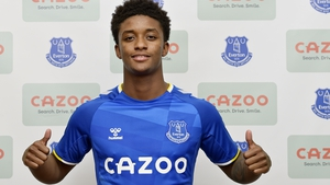 Demarai Gray has joined up with the Toffees in Orlando for the Florida Cup