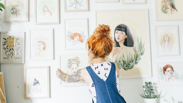 Digital décor: 10 illustrators to buy from on Instagram. Photo: Getty