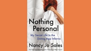 Nancy Jo Sales with 'Nothing Personal: My Secret Life in the Dating App Inferno'