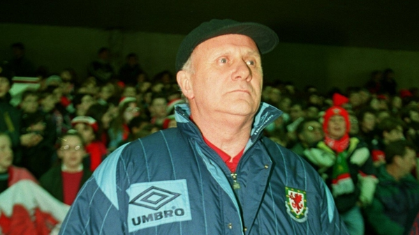 Mike Smith, pictured in 1994 during his second tenure as Wales manager