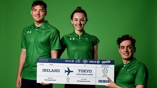 (L to R): Barry McClements, Ellen Keane and Patrick Flanagan