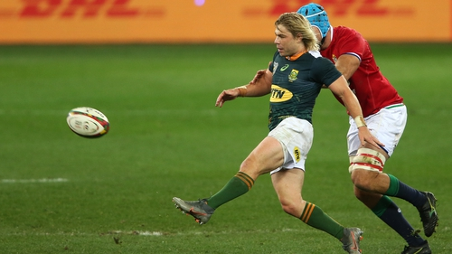 Faf de Klerk was fortunate to escape with a yellow card while facing the Lions with South Africa A last week