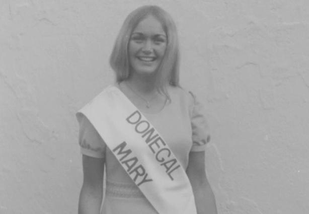 Gloria O'Boyle, this year's winner (1971)