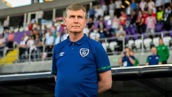 Ireland boss Stephen Kenny
