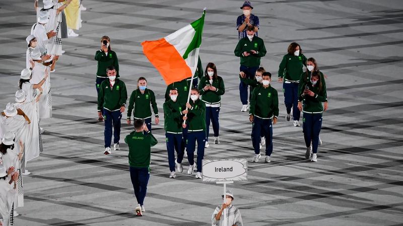 Foireann Oilimpeach na hÉireann i dTóiceo inniu