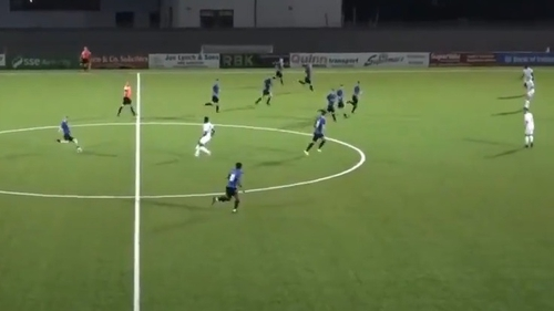 Glen McAuley scored a tremendous goal for Waterford