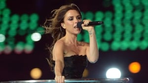 Victoria Beckham performing at the 2012 Olympics, image copyright PA Images