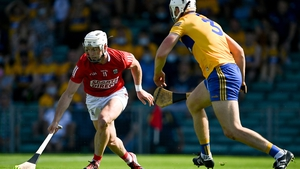 Patrick Horgan in action against Clare's Conor Cleary