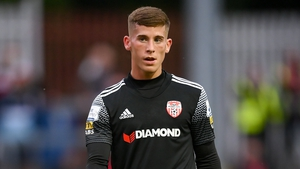 Evan McLaughlin scored the winning penalty for Derry City