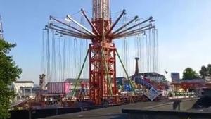 The funfair ride at Planet Fun in Carrickfergus (pic: Chloe St John)