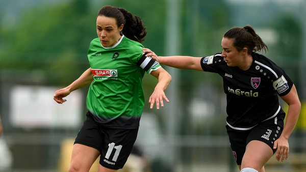 Áine O'Gorman scored the winner for Peamount United