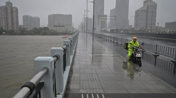 Typhoon In-Fa eatern China GETTY