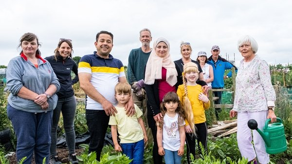 The 'New Beginnings' group in Kells, Co Meath, welcomed Ahmed Fedaa and their three children Maysa, 8, Kays, 5, and Tasnin, 3, into the community in 2019 (Pic: John Moore)