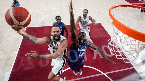 Evan Fournier was one of the stars of the show for France