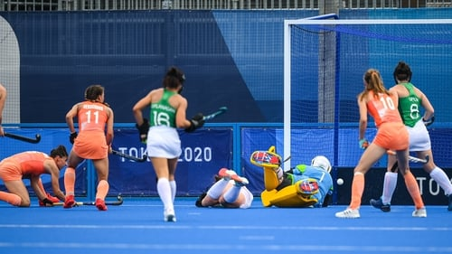 Malou Pheninckx scores her side's second goal