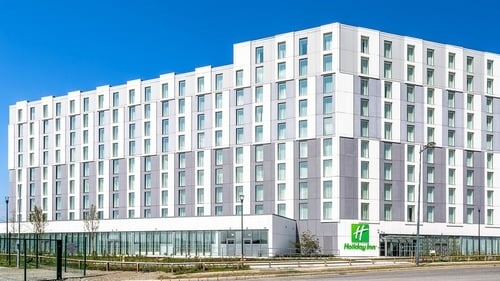 The 4-star Holiday Inn Dublin Airport was one of only two hotels to open in Dublin since Covid-19 hit