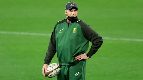 Erasmus oversaw South Africa's 22-17 defeat to the British and Irish Lions in Cape Town on Saturday