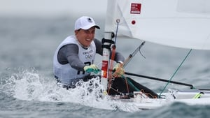 Annalise Murphy had high hopes of improving her place on the leaderboard going into the second day of competition at Enoshima Island