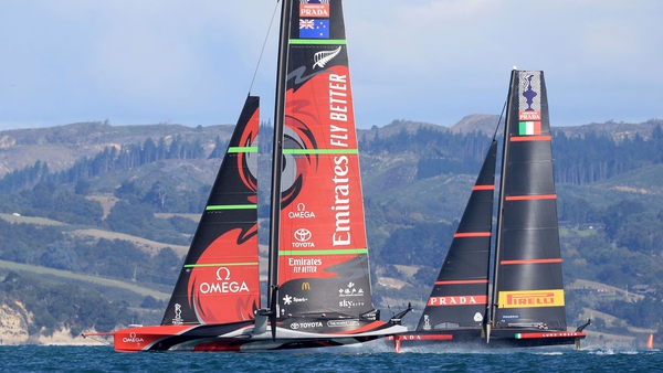The America's Cup took place in New Zealand this year