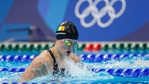 Mona McSharry got to compete in an Olympic final