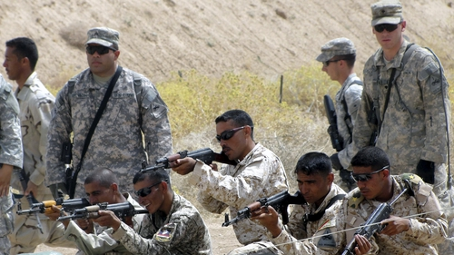 The US Army will remain in Iraq to help train its soldiers