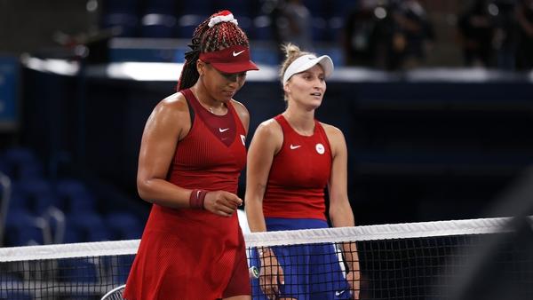 Osaka found her Czech opponent just too good