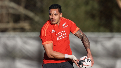 Shannon Frizell has played 15 Tests for the All Blacks