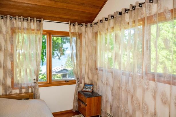 corner of a bedroom