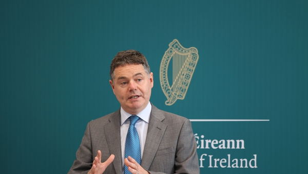 Finance Minister Paschal Donohoe warns the unexpected increase in corporation tax take this year could be gone by 2023