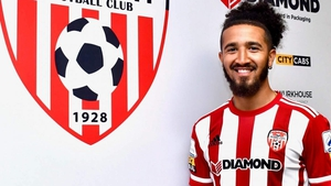 Bastien Hery has made a loan switch to Derry