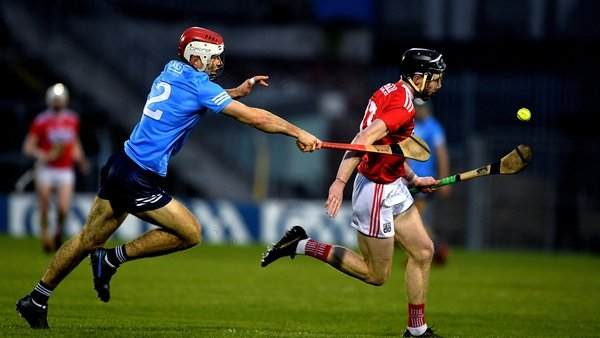 Paddy Smyth pursues Cork's Jack O'Connor in last year's qualifiers