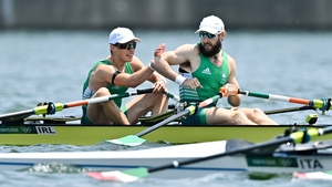 Paul O'Donovan and Fintan McCarthy turned on the style