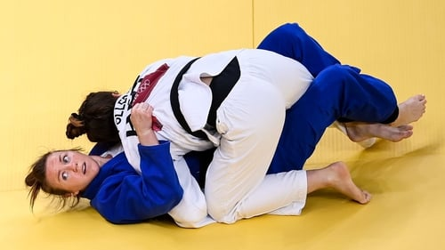 Megan Fletcher was beaten with a takedown in final seconds of her bout