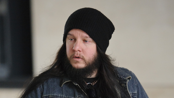 Joey Jordison (pictured in London in June 2013) - Fellow musicians pay tribute