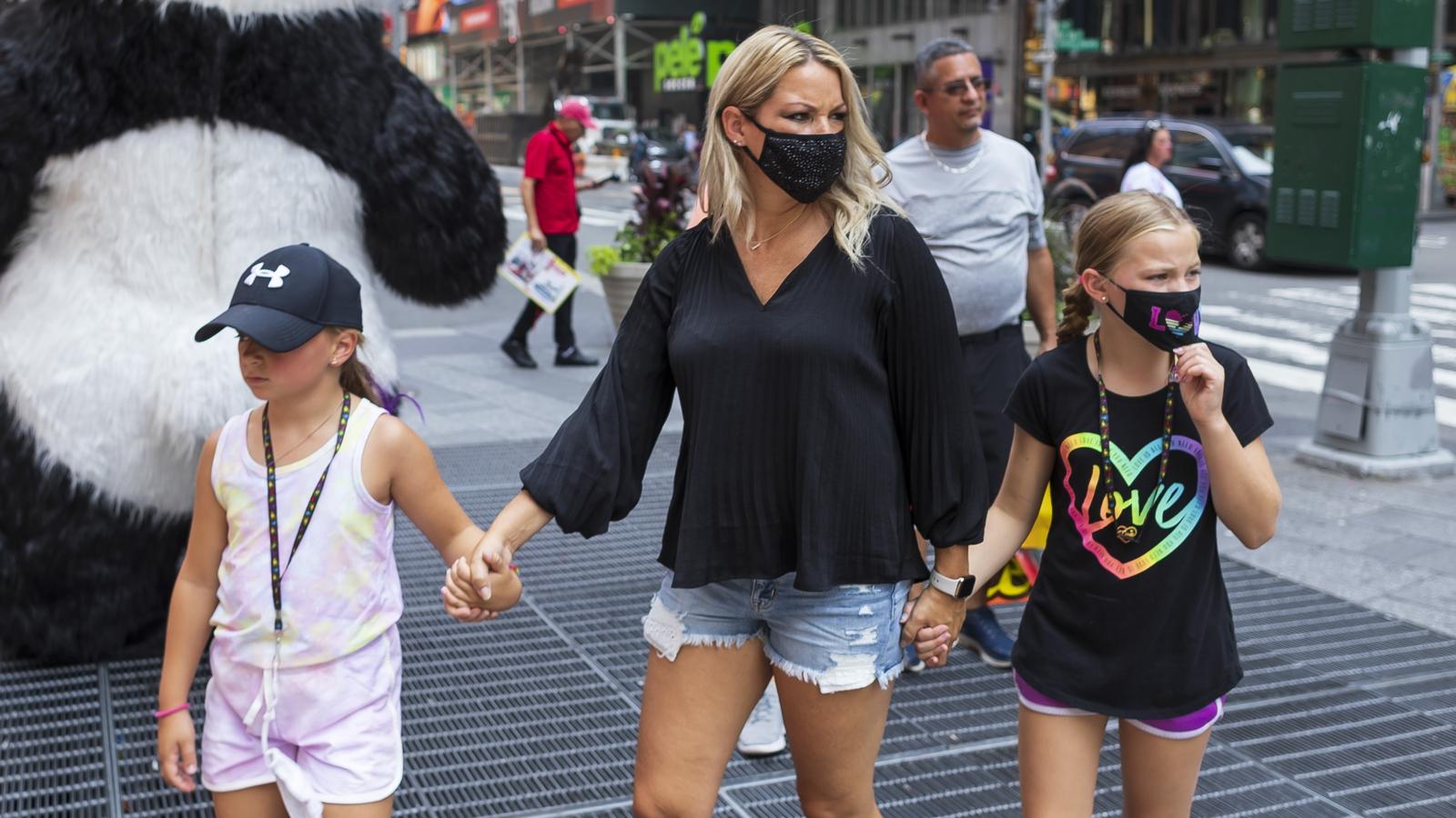 Masks mandate returns for high-risk elements of the US