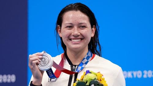 Siobhan Haughey won Hong Kong's first swimming medal