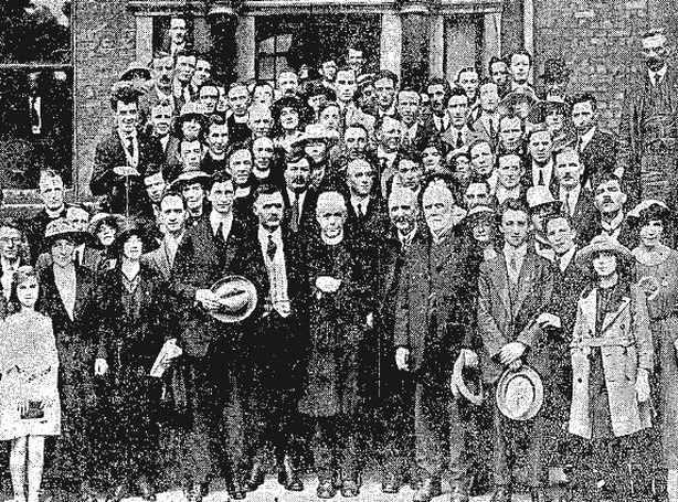 De Valera at the Gaelic League Ard Fheis Photo: Freeman's Journal, 4 August 1921