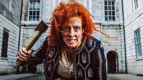 Giselle Allen as Elektra in Irish National Opera's new production for Kilkenny Arts Festival (Pic: Ruth Medjber)