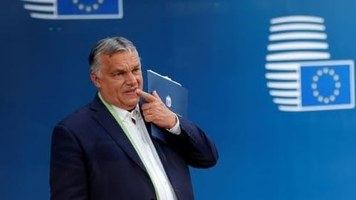 """""""For years, Hungarian prime minister Viktor Orban has pursued a right-wing agenda that has often contradicted the EU's core values."""" Photo: Reuters/ Alamy"""