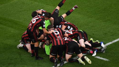Bohs are looking to finish the job against Dudelange at the Aviva Stadium