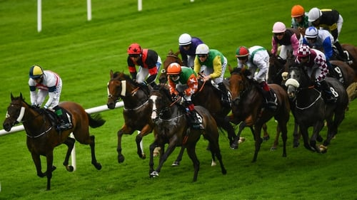 An eight-race card gets under way at 4.35pm