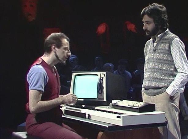Roger Doyle and John Hutchinson on 'Live Arts Show' (1983)