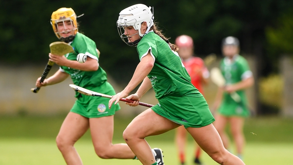 Limerick's Megan O'Mara in action during this year's Munster championship