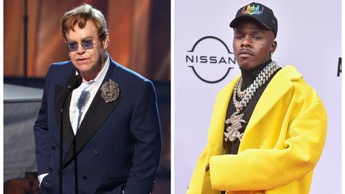 "Elton John criticises DaBaby for fuelling ""HIV misinformation"""