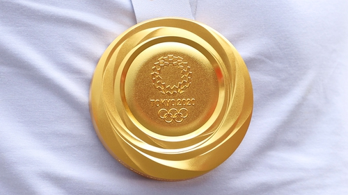 Olympic gold medals are at least 92.5% silver