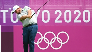 Shane Lowry is seven shots behind the leader