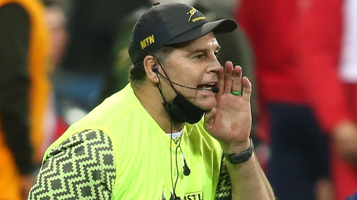 Rassie Erasmus is unhappy about the length of time it took to receive feedback from the officials