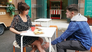 ane kicks Zak out when he makes a pass at her on Fair City