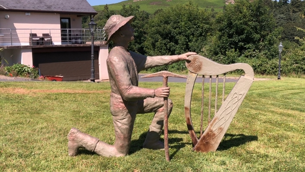 Terry Brennan from Co Wicklow has created this statue as part of a memorial to Irish immigrants in Leadville, Colorado